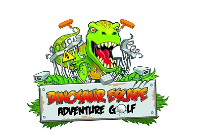 Dinosaur Escape Adventure Golf logo