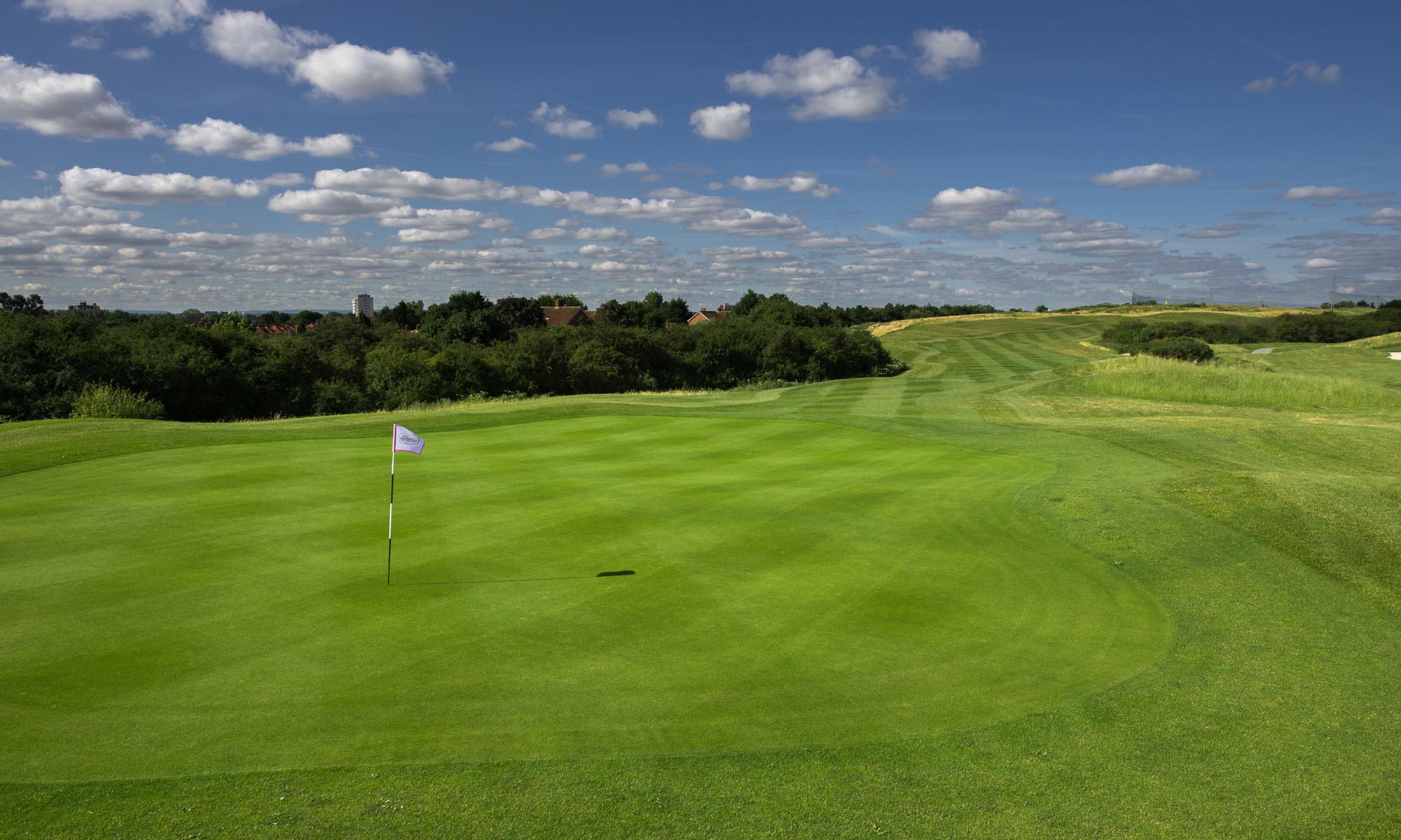 West London Golf Centre 1st Hole