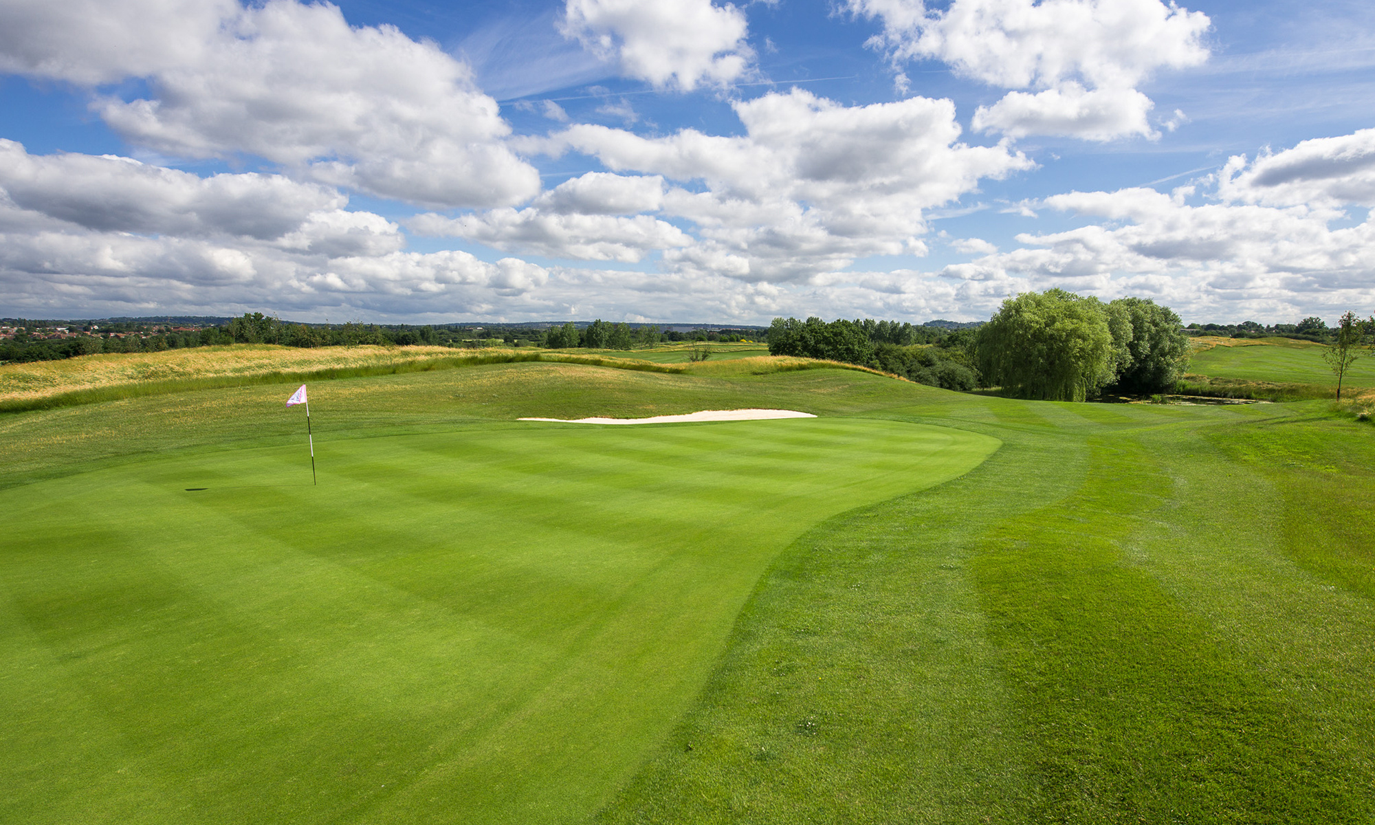 West London Golf Centre 3rd Hole