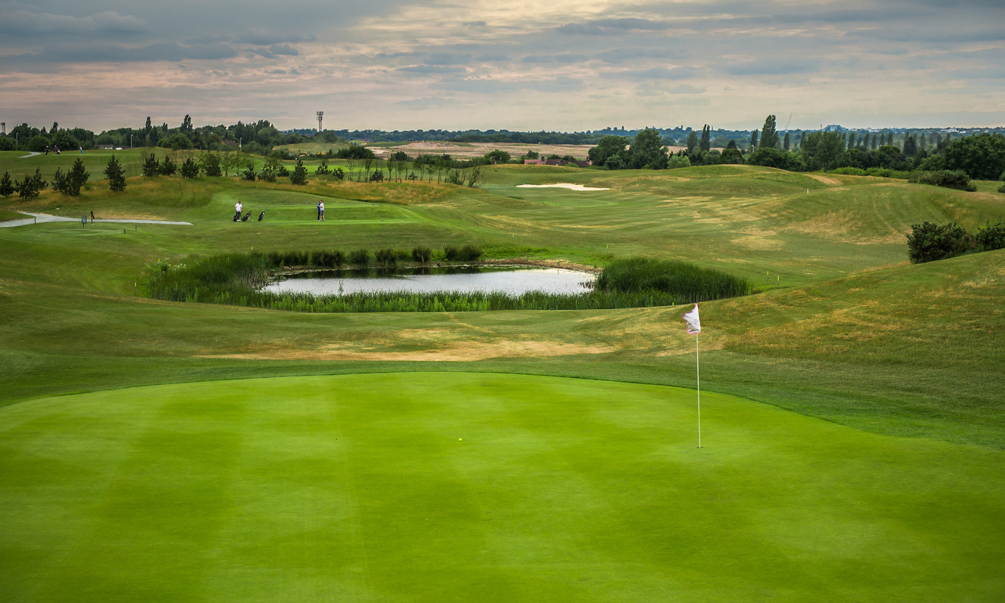 West London Golf Centre 5th Hole